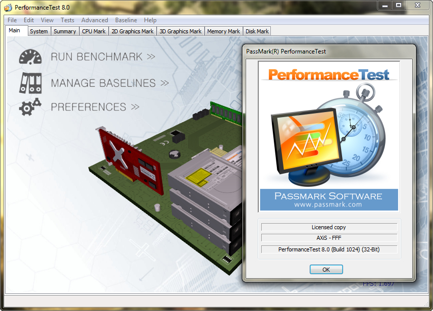 PerformanceTest 9 Crack