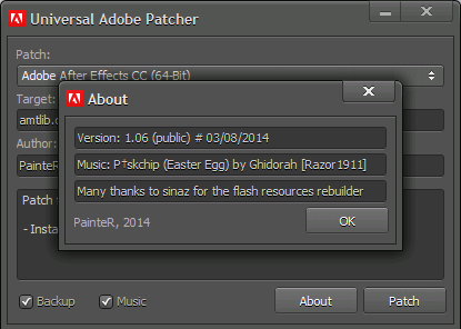adobe cc 2018 universal patcher 1.5