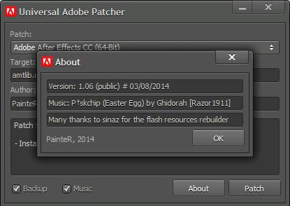Universal Adobe Patcher appnee