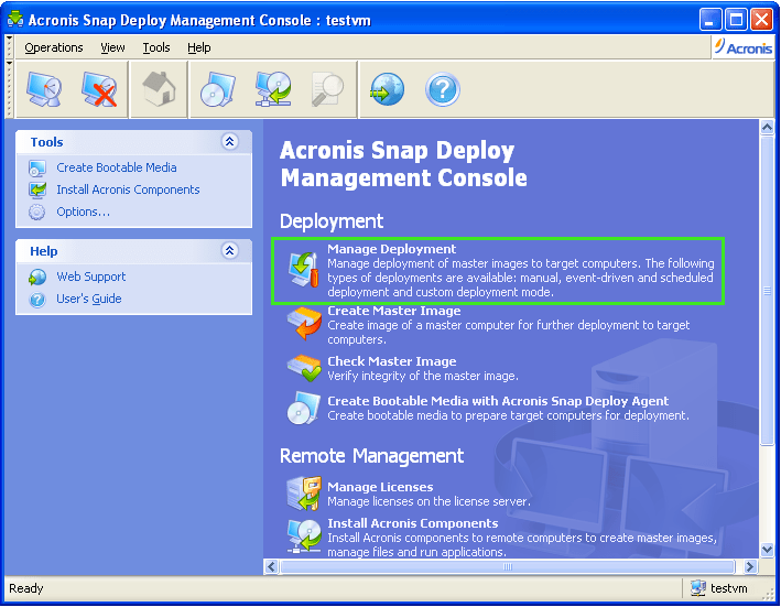 Acronis Snap Deploy 5 keygen