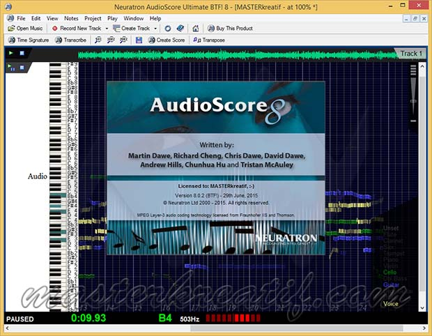 AudioScore Ultimate 8 Free Download