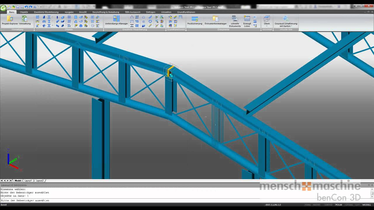 Buy Oem Autodesk Advance Steel 2016