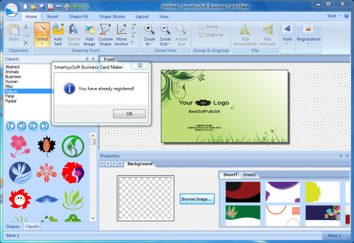 Business Card Maker Pro APk