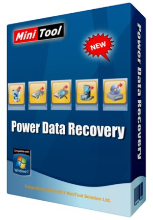 MiniTool Power Data Recovery 8.0 With Crack