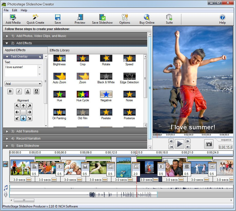 NCH PhotoStage Slideshow Producer Professional 5.10 With Crack