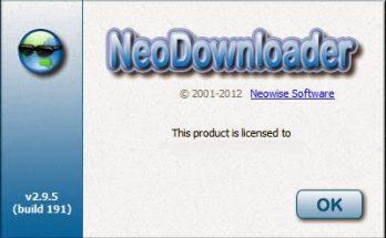 NeoDownloader 3.0.3 Crack
