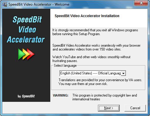 TÉLÉCHARGER SPEEDBIT VIDEO ACCELERATOR