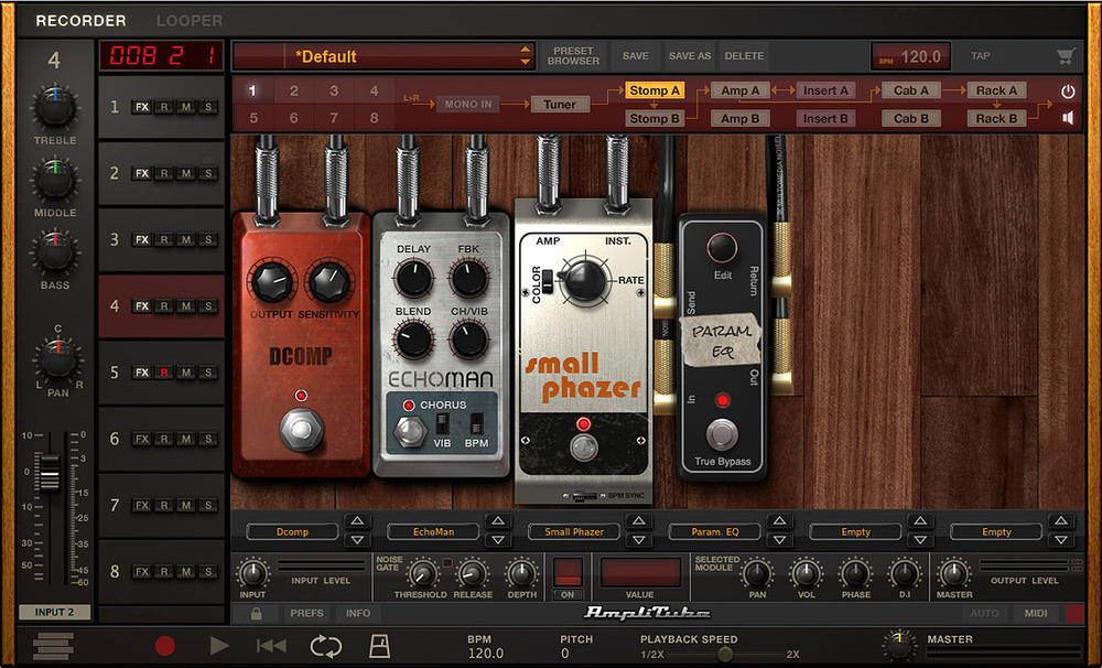 IK Multimedia Amplitube 4.6.3 Crack