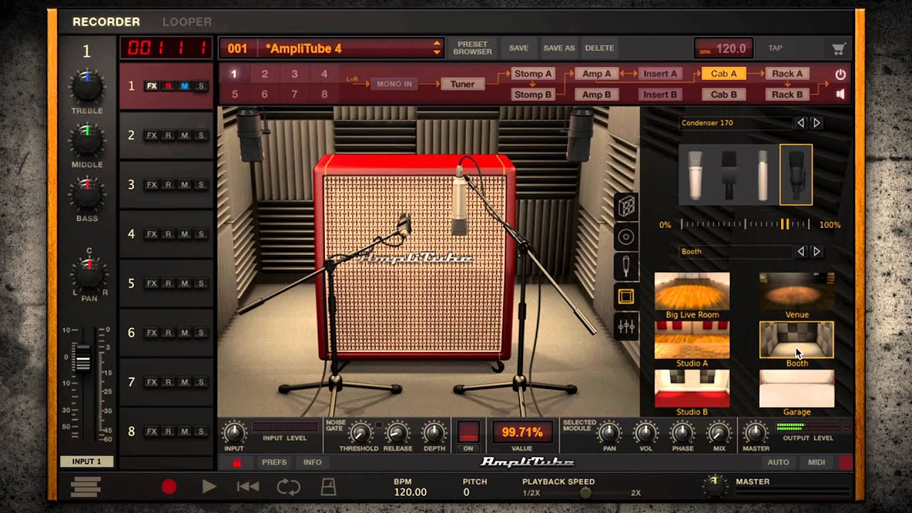 IK Multimedia Amplitube 4 keygen