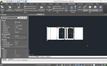 ProgeCAD 2019 Pro (64-bit) (32-bit) Crack Software Download