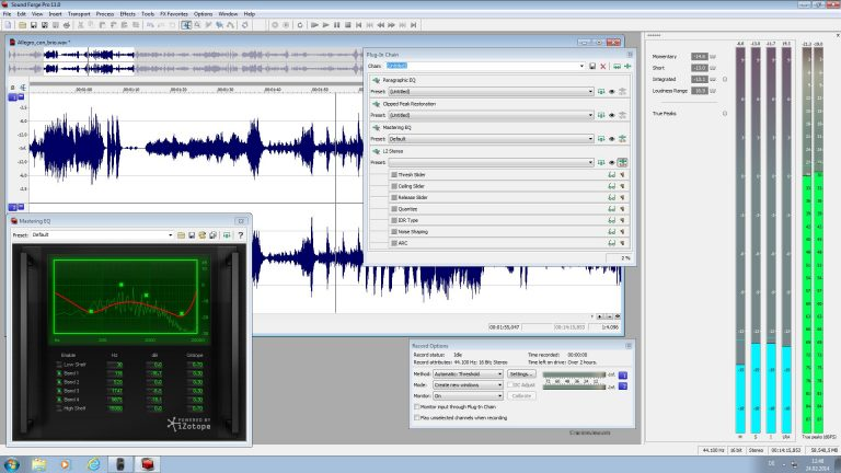 Sound Forge Pro 12.1.0.170 Serial Number