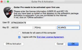 guitar pro 6 keygen mac