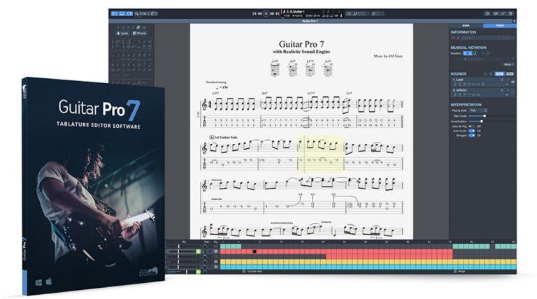 Guitar Pro 7.5.2 Crack Only + Soundbanks Licesne Key